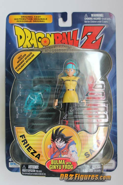Irwin-Dragon-Ball-Z-Frieza-Saga-Bulma-with-Ginyu-Frog-1