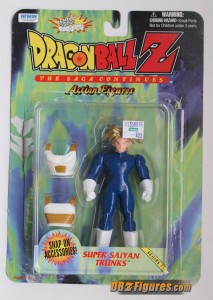 Super Saiyan Trunks Action Figure by Irwin
