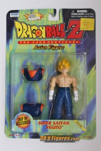 Super Saiyan Vegito Action Figure by Irwin