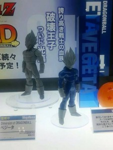 Dimension of Dragon Ball Vegeta Prototype