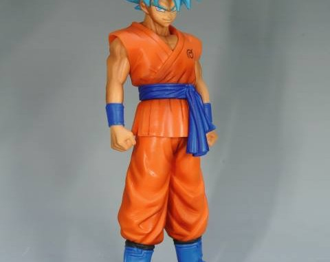 Super Structure Collection Super Saiyan God Goku