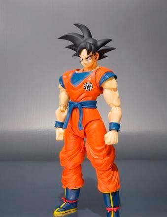 Distribuidora Animexico Exclusive SH Figuarts Goku Front