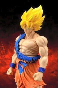 X-Plus Battle Damaged Goku