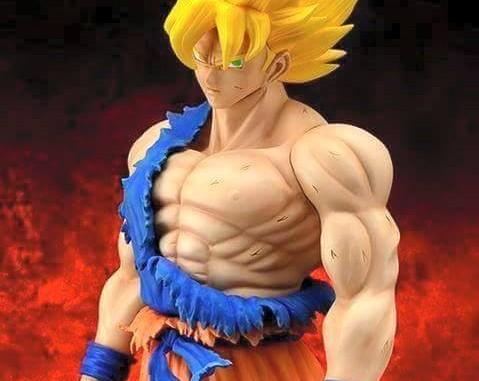 X-Plus Battle Damaged Goku