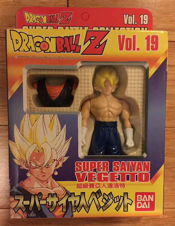 Super Battle Collection Vol. 19 – Super Saiyan Vegetto