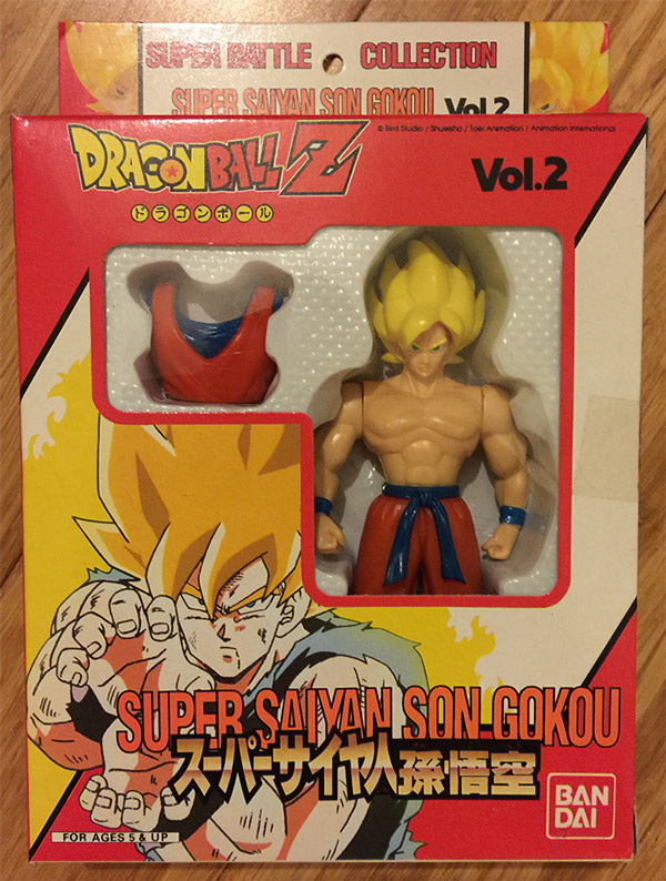 Super Battle Collection Vol. 2 – Super Saiyan Son Gokou
