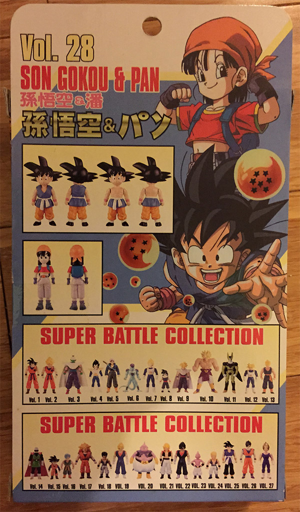 Super Battle Collection Vol. 28 – Son Gokou and Pan