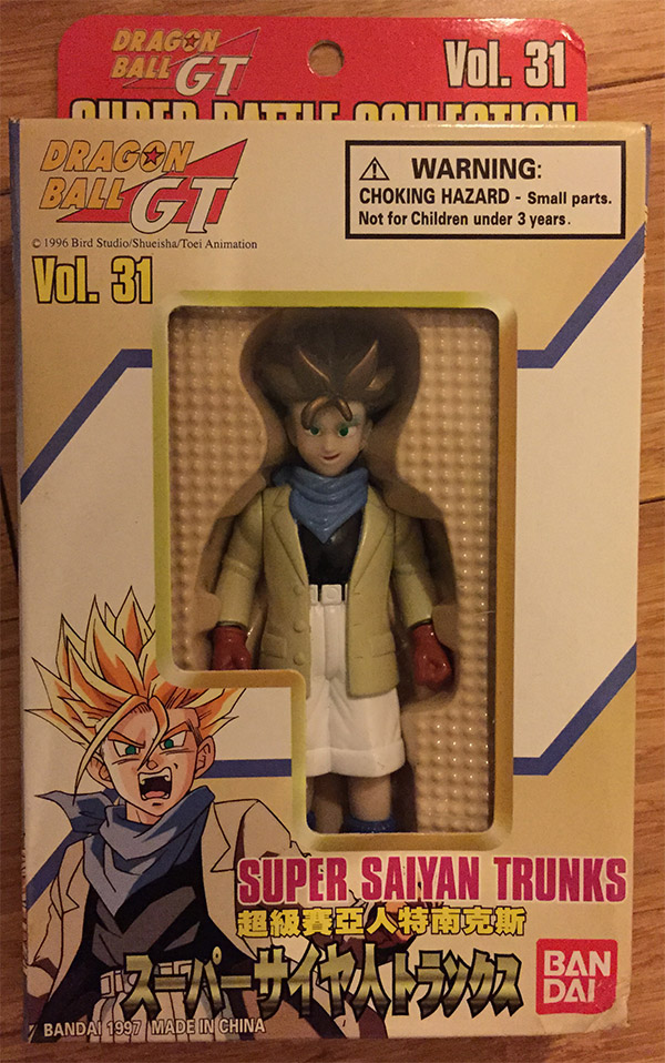 Super Battle Collection Vol. 31 – Super Saiyan Trunks