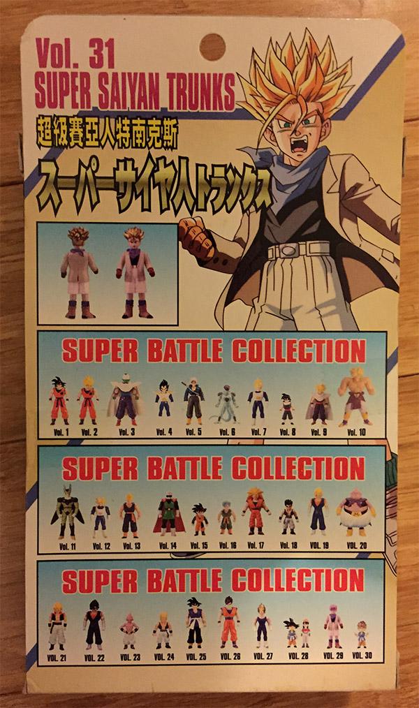 Super Battle Collection Vol. 31 – Super Saiyan Trunks