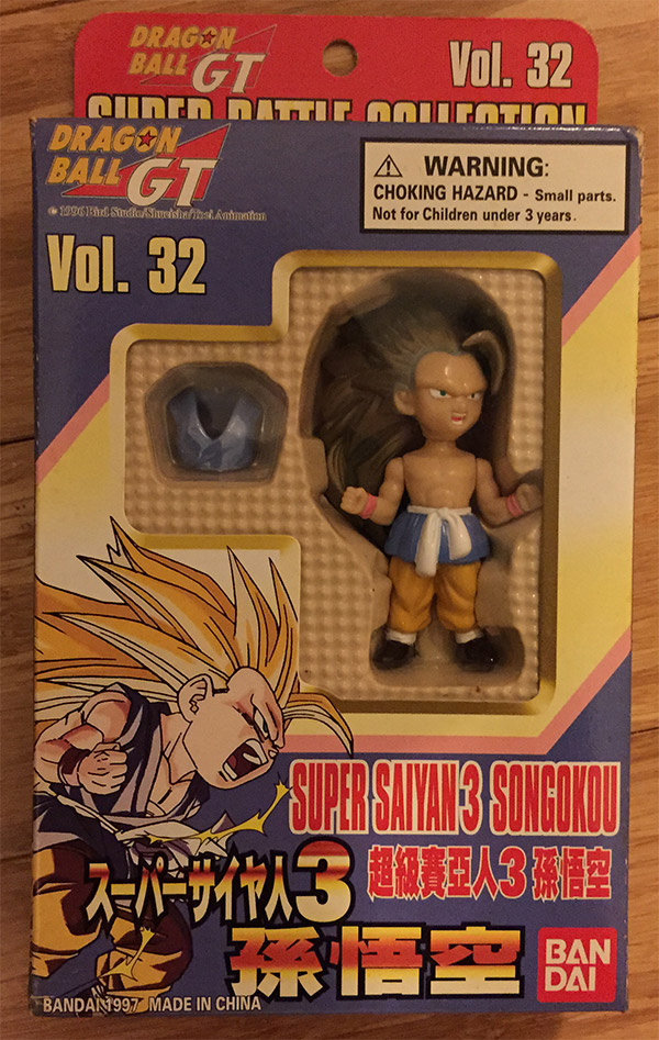 Super Battle Collection Vol. 32 – Super Saiyan 3 Son Gokou