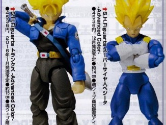 SH Figuarts 'Advanced Color' Trunks and Super Saiyan Vegeta