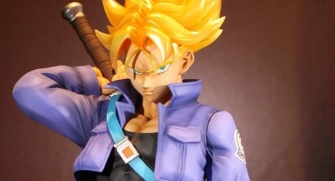 Dragon-Ball Z Figuarts Zero EX Super Saiyan Trunks Statue
