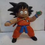 Goku looks awfully surprised.