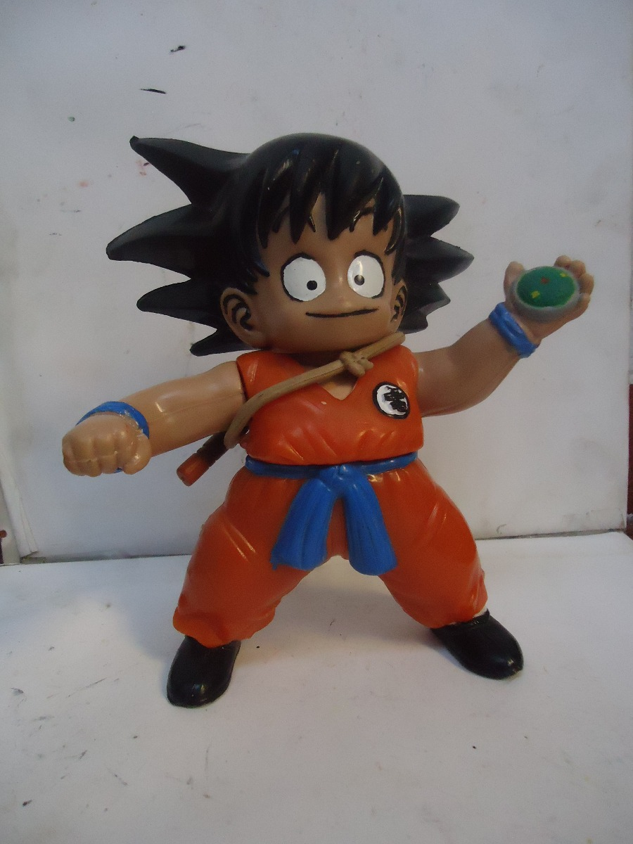 Goku looks awfully surprised.