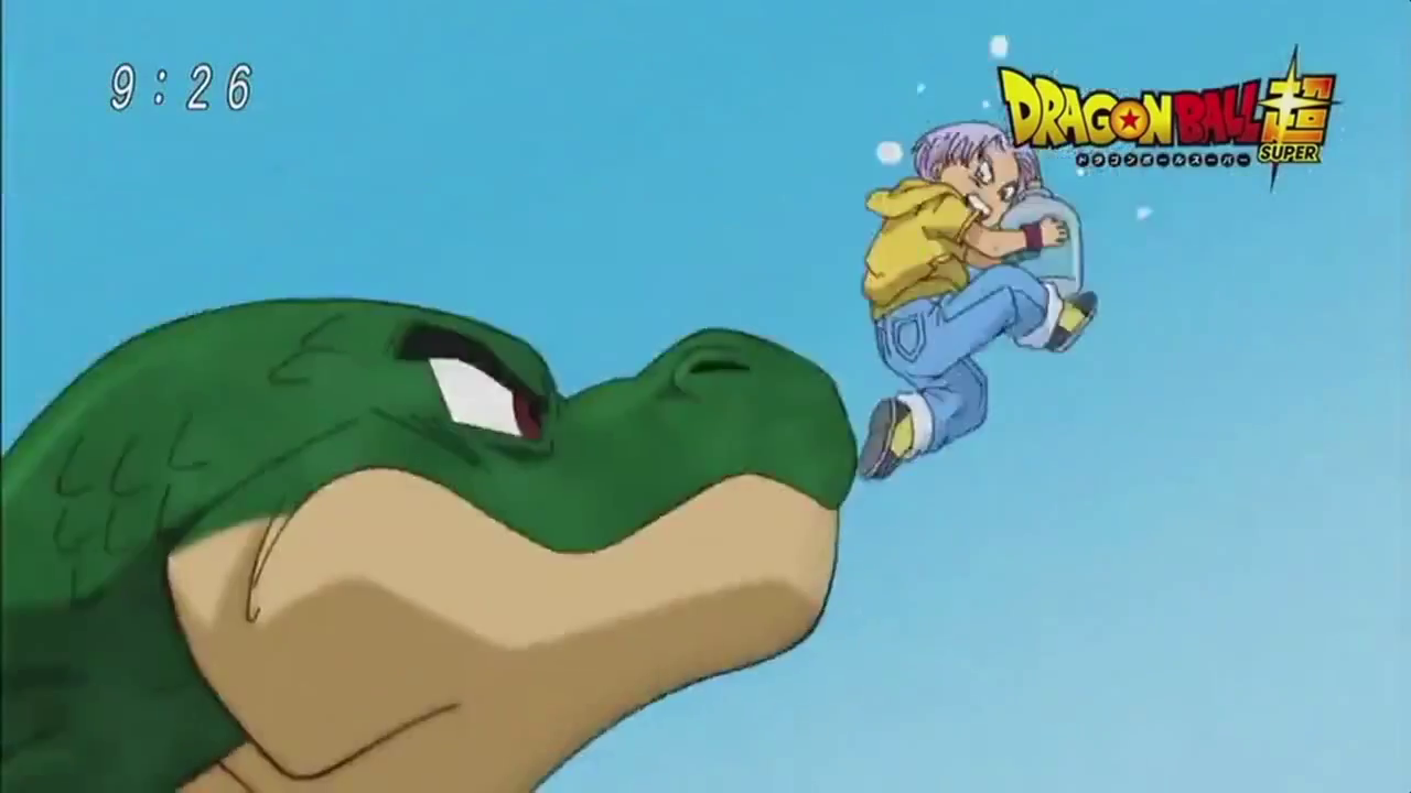 Dragon Ball Super Preview Trunks