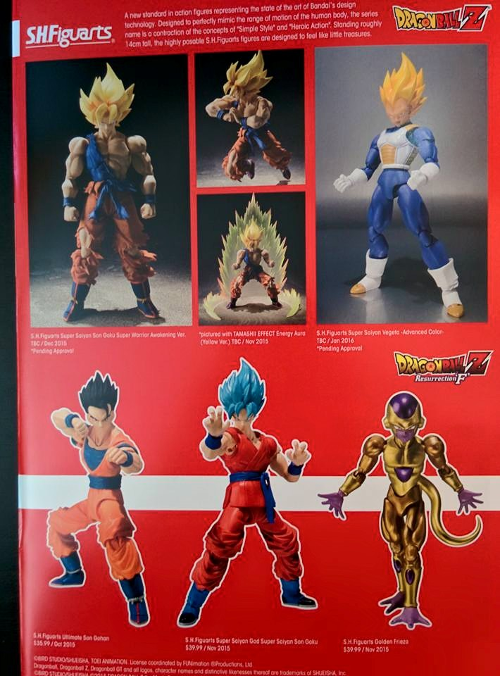 Tamashii Nations 2015 Summer Catalogue