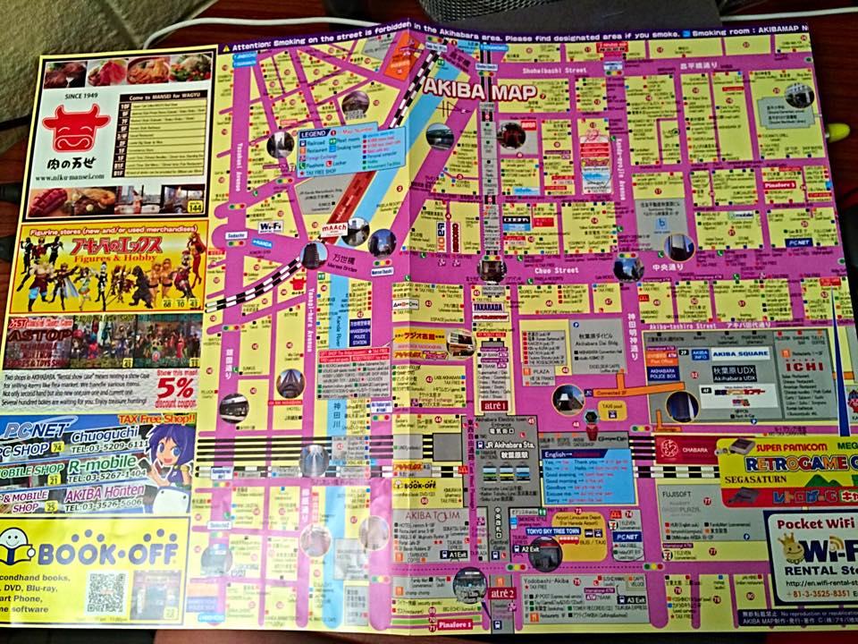 Akihabara Map