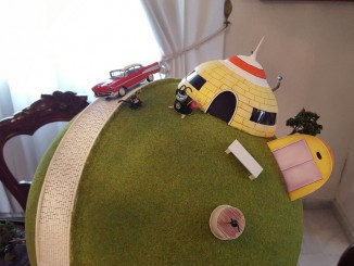Juan's Amazing Custom King Kai Planet Diorama