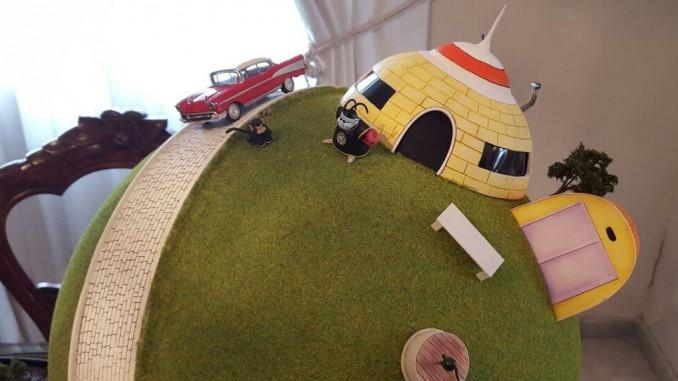 Juan's Amazing Custom King Kai Planet Diorama