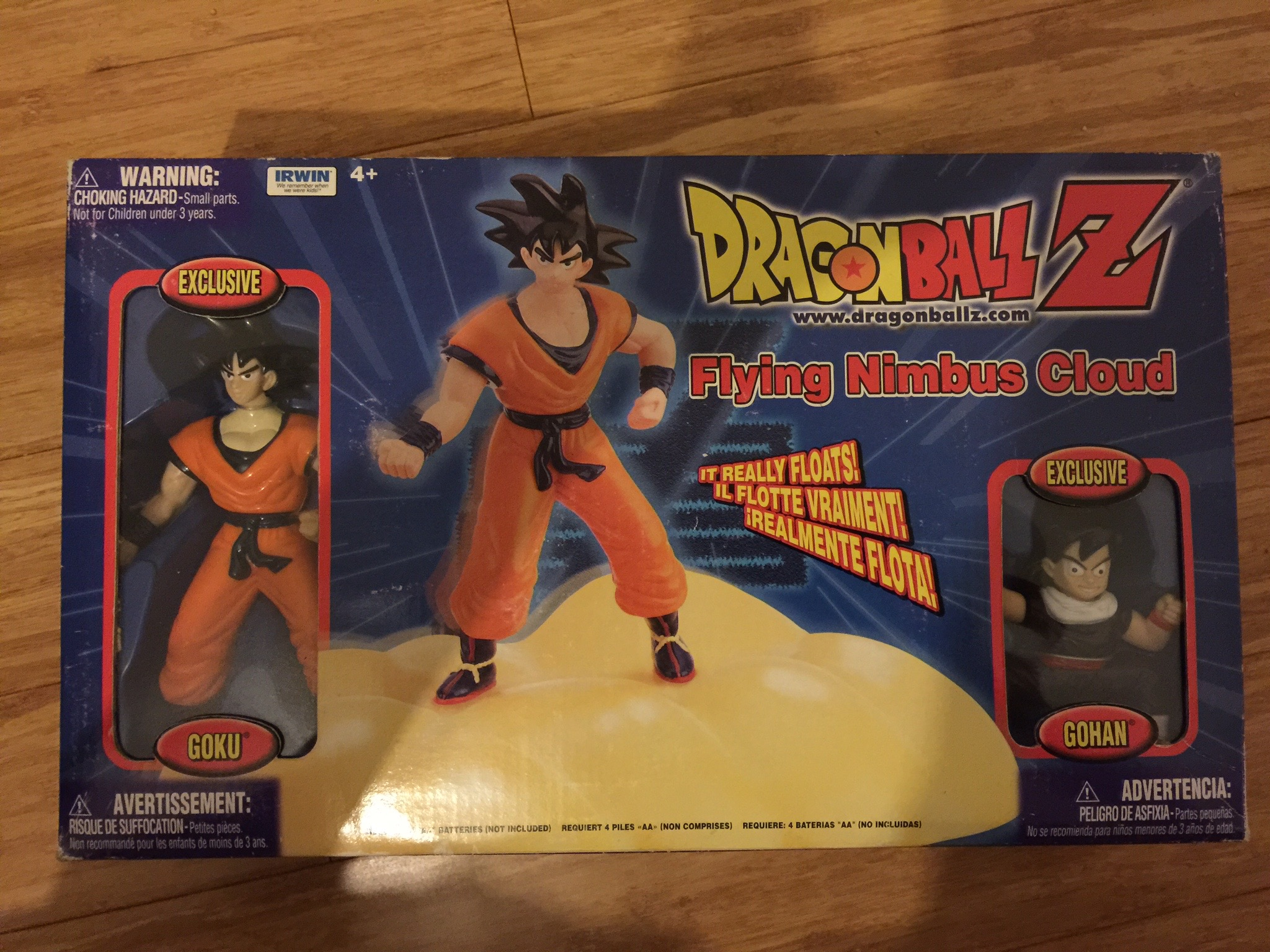 Dragon Ball Z Flying Nimbus Cloud by Irwin Toys