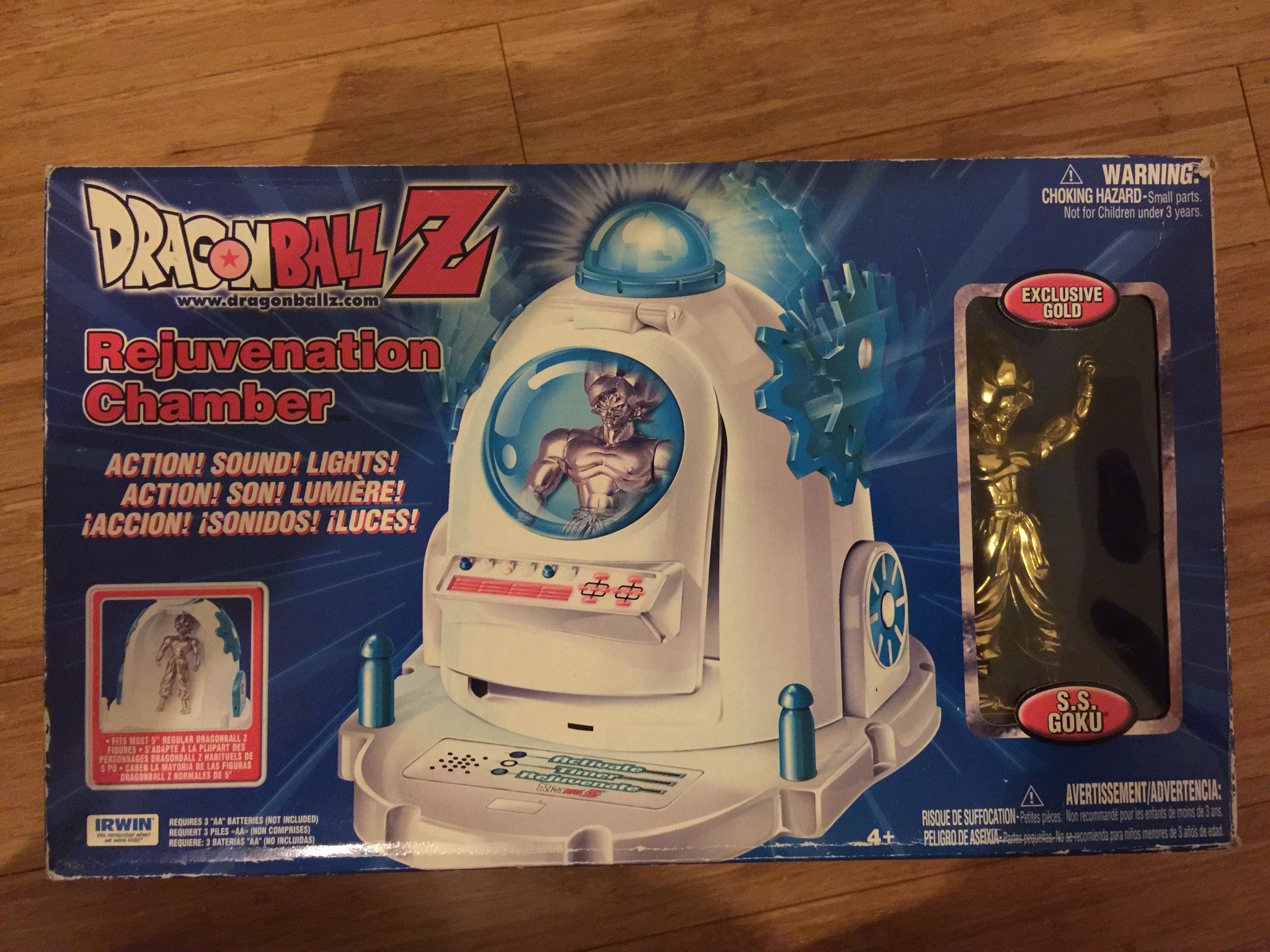 Dragon Ball Z Rejuvenation Chamber by Irwin Toys