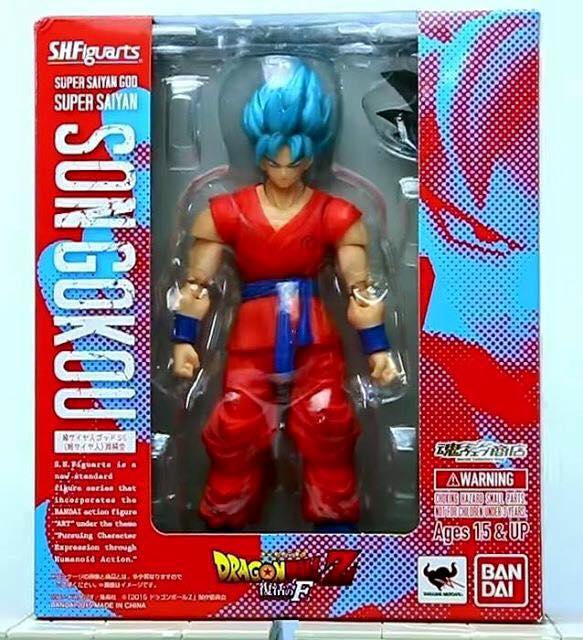 SH Figuarts Super Saiyan God Super Saiyan Goku