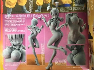 Dimension of Dragon Ball Bulma Bunny Suit Version