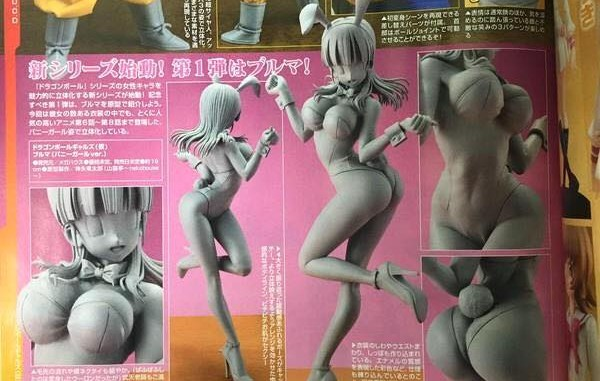 Dimension of Dragon Ball Bulma Bunny Suit Version