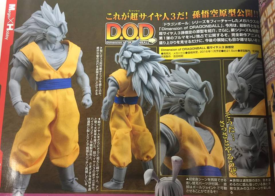 Super Saiyan 3 Son Goku Dimension of Dragon Ball