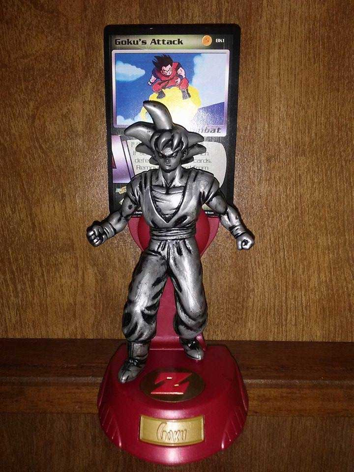 Burger King Metallic Figures: Goku