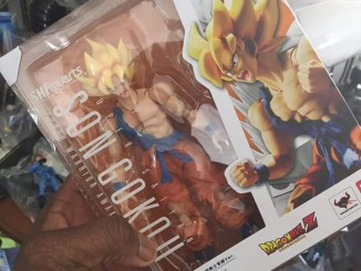 SH Figuarts Super Warrior Awakening Goku