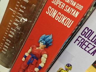 SH Figuarts Super Saiyan Son Gokou Awakening Version Packaging