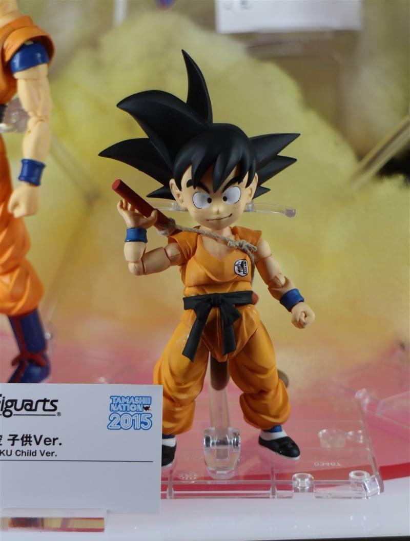 SH Figuarts Super Kid Goku at Tamashii Nation 2015