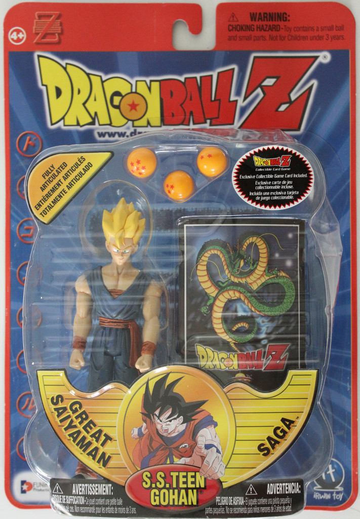 Irwin Fully Articulated Series 7 Super Saiyan Teen Gohan