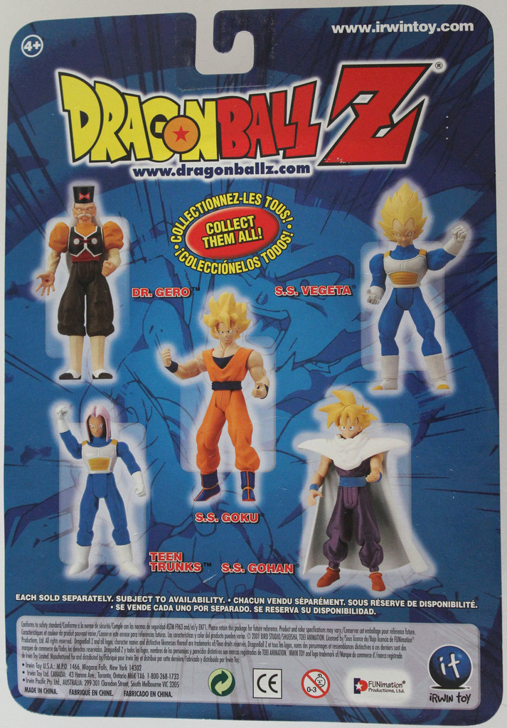 Irwin Super Articulated Series 5 Super Saiyan Gohan