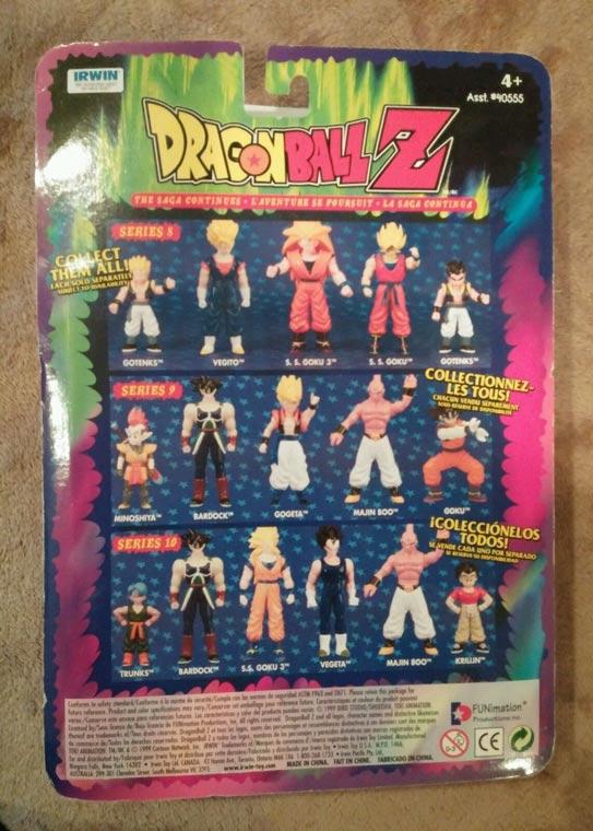 Irwin Series 10 Super Saiyan 3 Goku