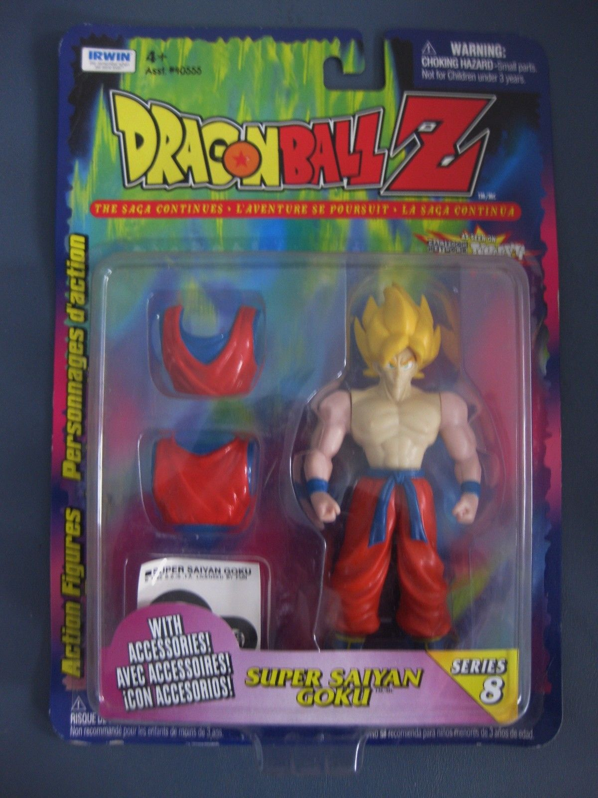 Irwin Dragon Ball Z Series 8 Super Saiyan Goku