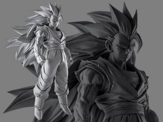 Banpresto SCultures 6 Super Saiyan 3 Son Goku