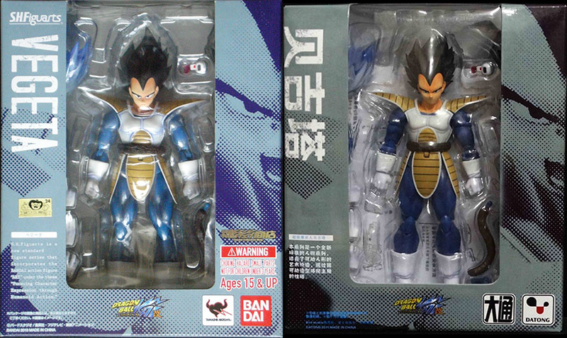Counterfeit and Legitimate SH Figuarts Compared