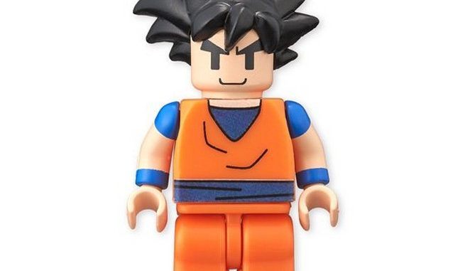Dragon Ball Z Figme (Lego Style figures)