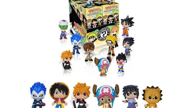 Funko Mystery Minis Best of Anime Set 2