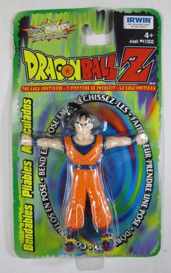 Irwin Dragon Ball Z Bendables Goku