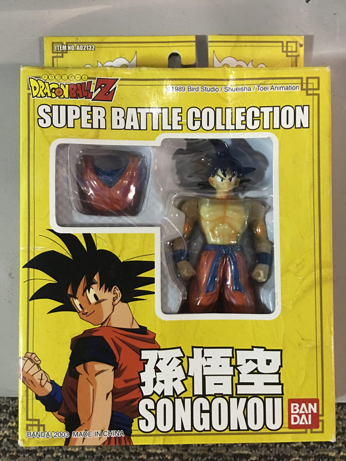 Super Battle Collection – Son Goku 2003 Re-Release