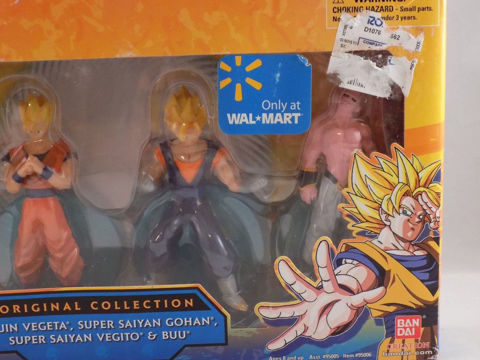 Bandai Original Collection – Wal-Mart Exclusive Four Pack