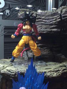 SH Figuarts Super Saiyan 4 Goku at La Mole Comic Con