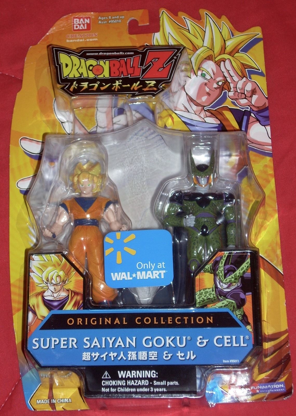 Original Collection – Super Saiyan Goku and Cell