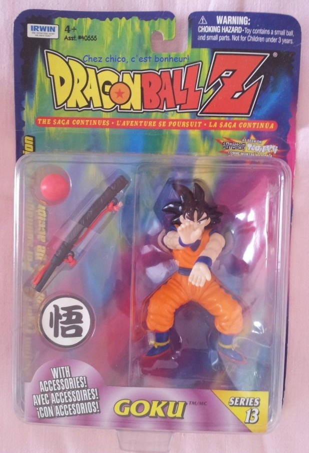 Irwin Series 13 Goku