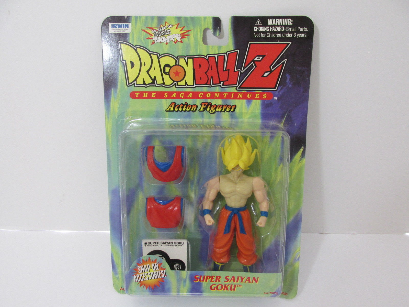 Irwin Series 1 – Super Saiyan Son Goku