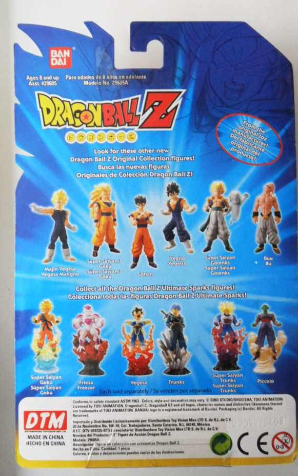 Bandai Original Collection – Vegetto