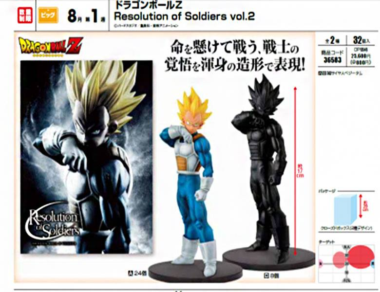 BANPRESTO Resolution of Soldiers Vol 2